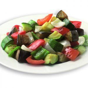 Guarnición de verduras congeladas